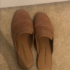 Lucky Brand Agnae Leather Flats